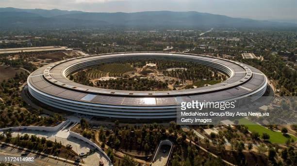 The Apple Park campus in Cupertino, California, on Thursday, September 7, 2017.