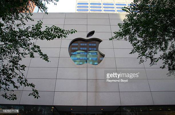The Apple Store in Chicago Illinois on SEPTEMBER 16 2012