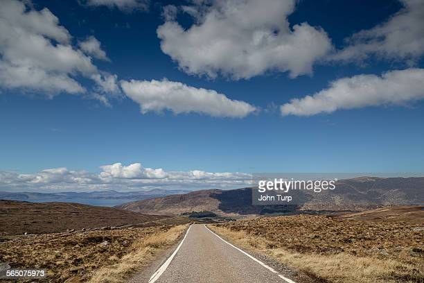 The Applecross Road in Wester Ross