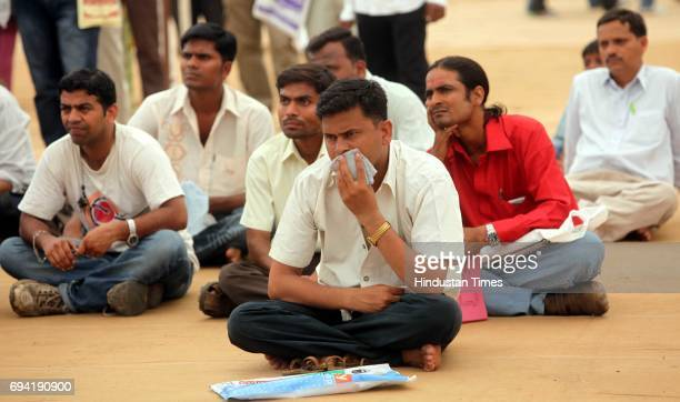 The applicants for MHADA Lottery awaiting the results The results for annual MHADA lottery were announced on Tuesday at Rangsharada Auditorium Bandra