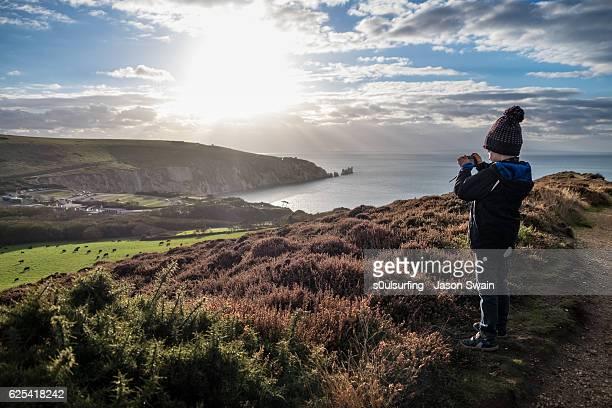 the apprentice photographer - s0ulsurfing stockfoto's en -beelden