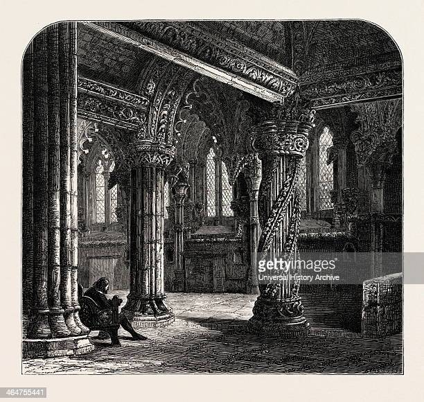 The Apprentice Pillar In Roslin Chapel UK Britain British Europe United Kingdom Great Britain European