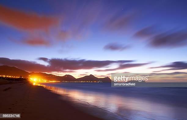 The Approaching Dawn At Porto Santo