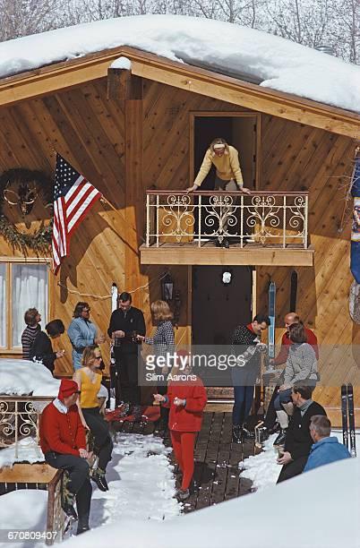 The apres ski in Vail Colorado March 1964