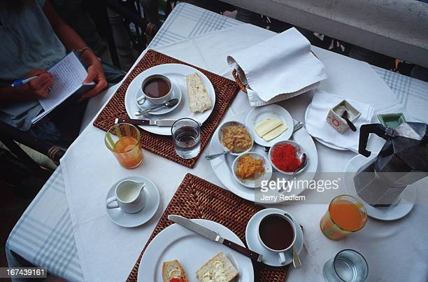 The Apsara Hotel in Luang Prabang offers a continental breakfast with its rooms including coffee fresh baguettes freshlysqueezed orange juice and a...