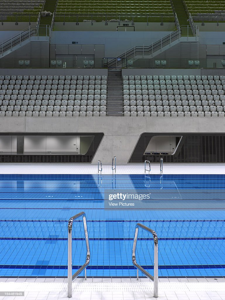 the aquatics centre london 2012 olympics zaha hadid architects overall pool interior - Olympic Swimming Pool 2012