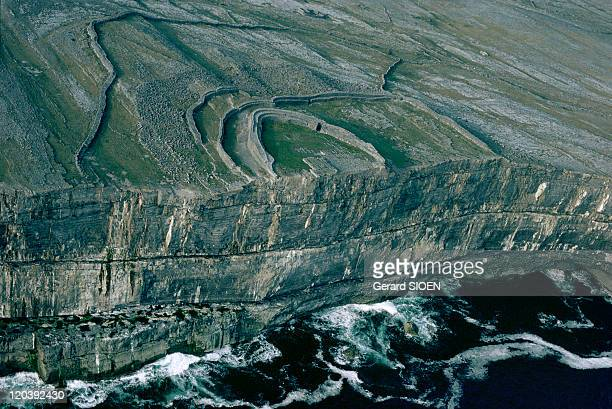 The Aran Islands in Ireland Dun Aengus