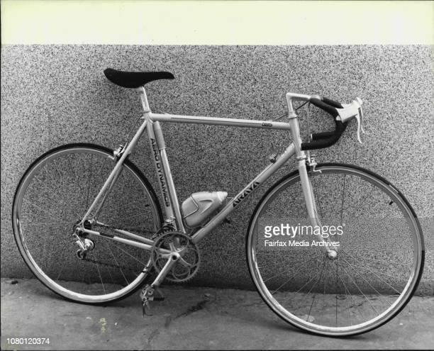 The Araya Aerodynamic bicycle at Clarence St Cyclery September 09 1981
