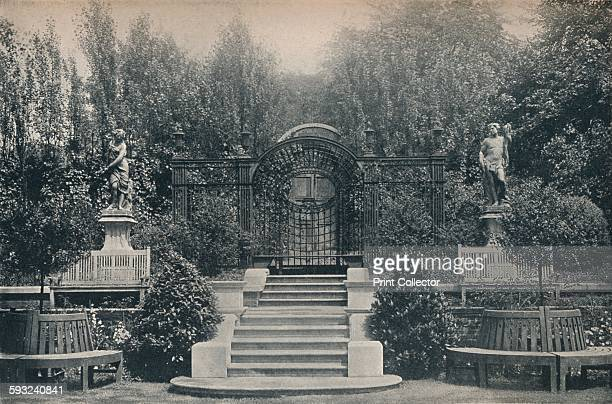 The Arbour' circa 1900 Inverforth House is a large detached house at North End Way on the outskirts of Hampstead London It was owned by William Lever...