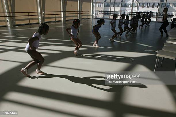 The ARC Washington DC Students curtsey to Katrina Toews during reverence the last exercise of the class as a way to say thank you at THEARC in...