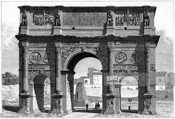 The Arch of Constantine Rome Italy 19th century