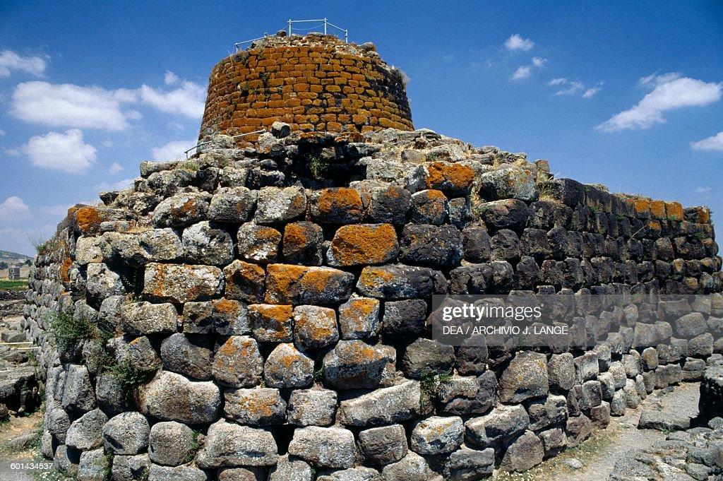 Santu Antine or Sa domo de su Re Nuragic palace : News Photo