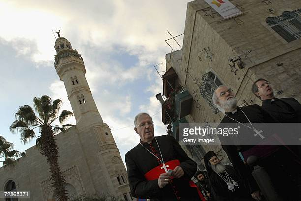The Archbishop of Westminster Cardinal Cormac MurphyO'Connor The Archbishop of Canterbury the Most Reverend Dr Rowan Williams and Free Churches...