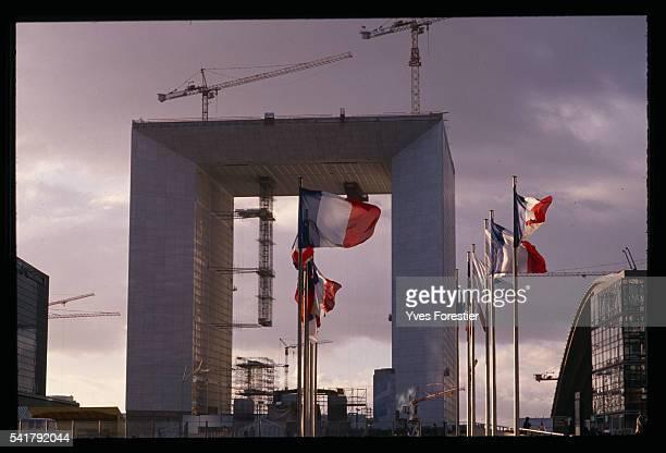 The Arche de la Defense Building Site