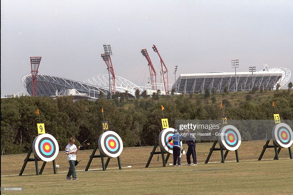 The Archery Site Is In Homebush Bay Olympic Park Near Stadium