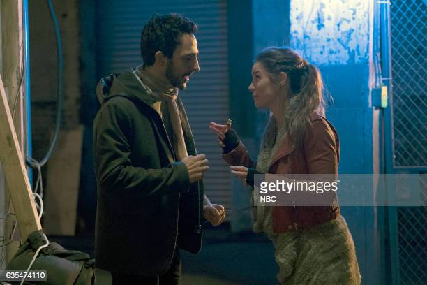 THE BLACKLIST 'The Architect' Episode 414 Pictured Amir Arison as Aram Mojtabai Annie Heise as Elise