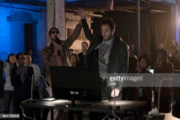 THE BLACKLIST 'The Architect' Episode 414 Pictured Sathya Sridharan as Bigsie Patel Amir Arison as Amar Mojtabai
