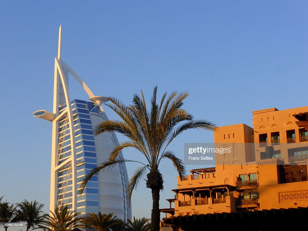 Icon of Dubai - Burj al Arab : ニュース写真
