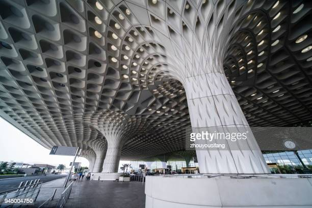 The architectural style of Airport of Mumbai