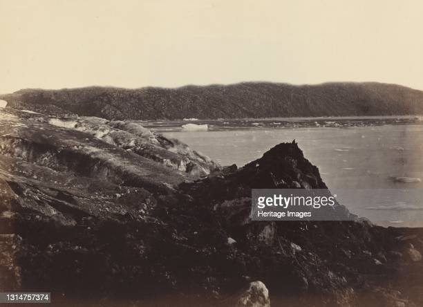 No. 36. The Glacier As Seen Flowing Or Being Forced Down Between The Hills, Ploughing Up A Moraine Of Earth And Rocks, Twenty To Thirty Feet High,...