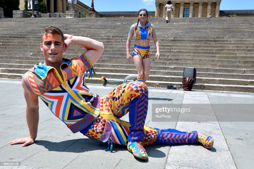 Cirque Du Soleil In Philadelphia : News Photo