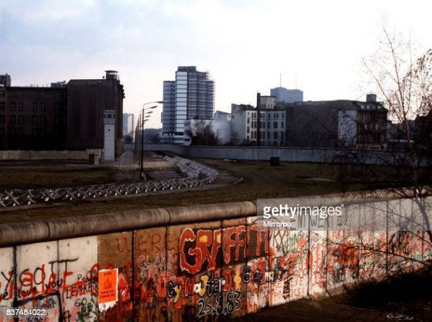 The area known as No Man's Land between East and West Germany.