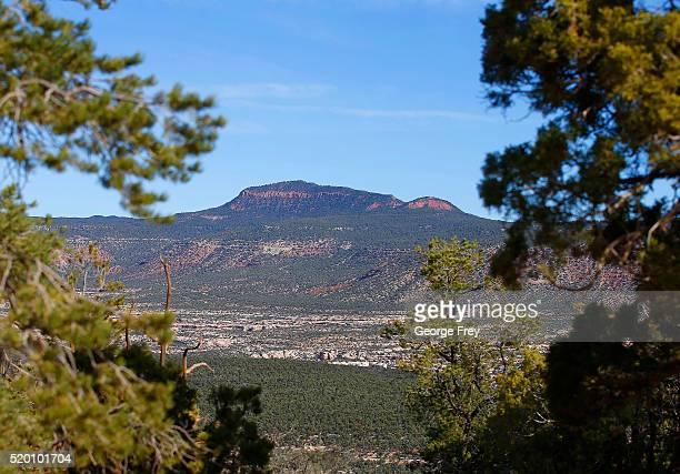 The area known as the Bears Ears is seen on April 7 2016 east of Blanding Utah Native American tribes are pushing the Obama administration to declare...