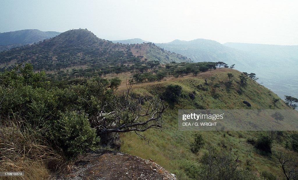 The area of extinct volcanoes... : News Photo