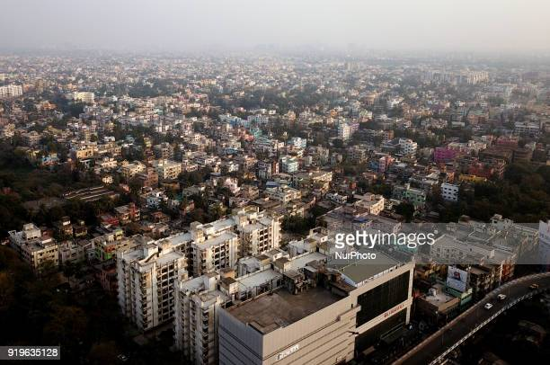 The Areal View of Resident Complex on February 182018 in Eastern India City KolkataThe past year may have been eventful for the real estate sector...