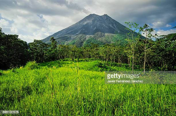 The Arenal Volcano is always active with continual eruptions, which cause almost always appears in a column of smoke rising from its crater. It is one of the natural wonders that can be visited in Costa Rica.