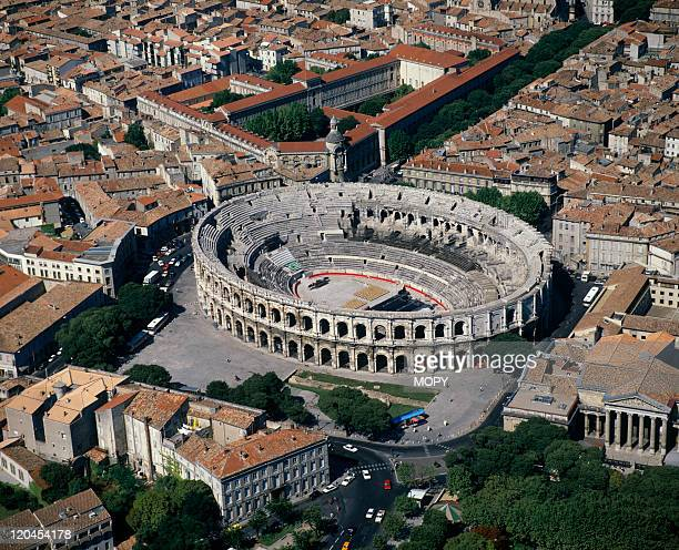 The arenas in Nimes, France on May 16, 1988.