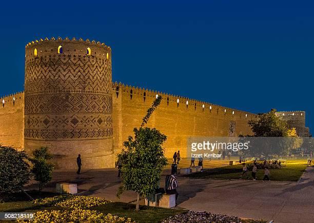 the arg of karim khan citadel in shiraz - shiraz fotografías e imágenes de stock
