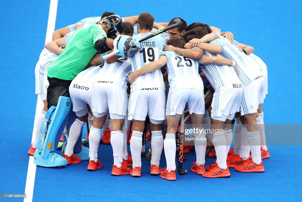 FIH Field Hockey Pro League Mens - Australia v Argentina : News Photo
