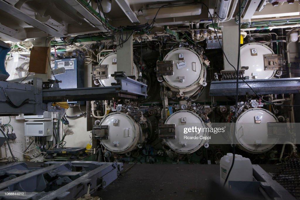 ARA San Juan Submarine Midlife Upgrade : News Photo