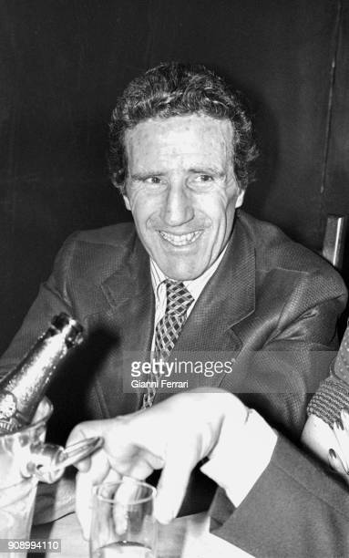 The Argentine soccer player and coach Helenio Herrera considered the best coach in history Barcelona Spain