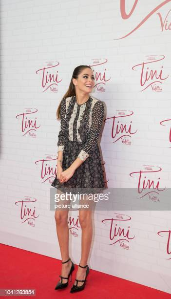 The Argentinian actress Martina Stoessel at a photocall on the occasion of the the cinema release of 'Tini The Movie' at Cafe Moskau in Berlin...