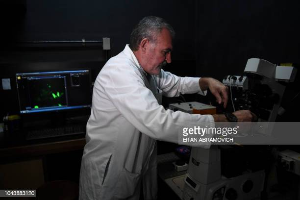 The Argentinian biologist and Post Graduate Researcher Osvaldo Rey of the National Scientific and Technical Research Council poses for a picture...