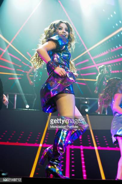 The Argentinian singer and actress Soy Luna at the Palaottomatica in Roma Italy Rome January 27 2018
