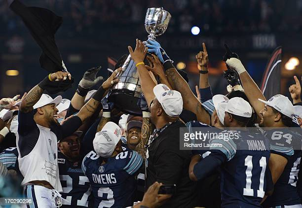 The Argos host the cup after winning 35-22 The 100th Annual Grey cup was held at the Rogers Centre between the Calgary Stampeders and the Toronto...