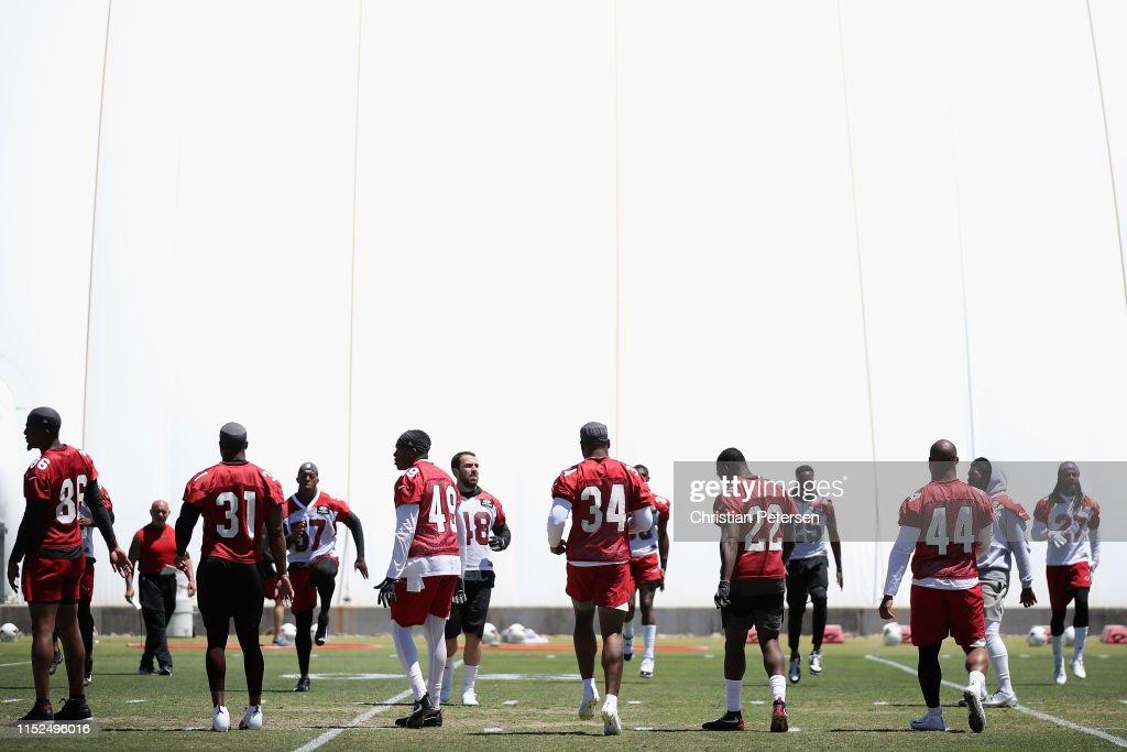 Arizona Cardinals OTA's : News Photo