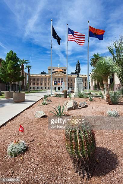 The Arizona State Capitol.