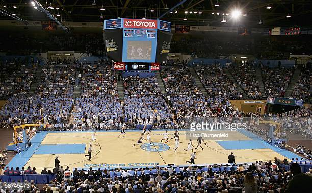 The Arizona Wildcats take on the UCLA Bruins on February 4 2006 at Pauley Pavillion in Westwood California The Bruins won 8473