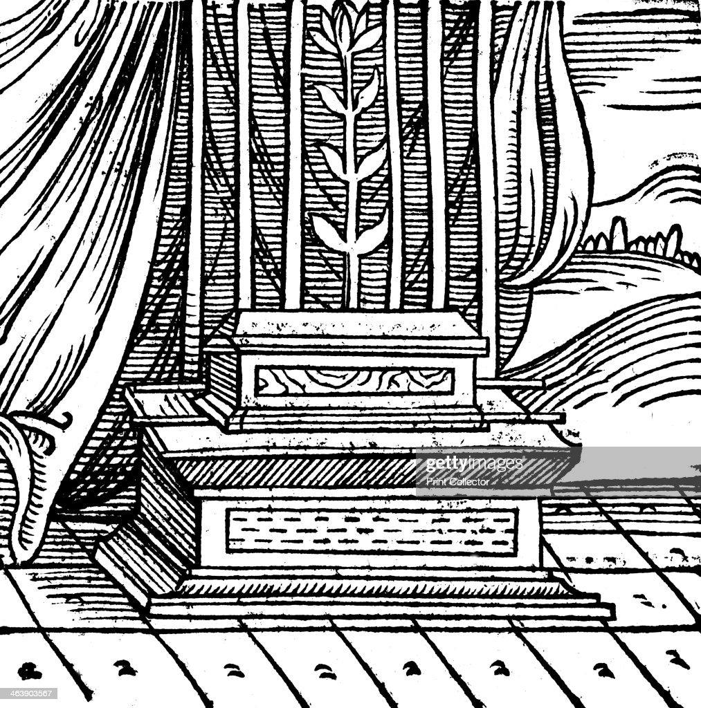The Ark of the Covenant, 1557. : Fotografía de noticias