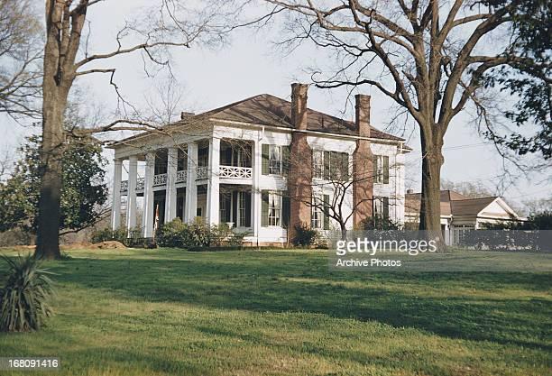 The Arlington Antebellum Home and Gardens Birmingham Alabama circa 1965