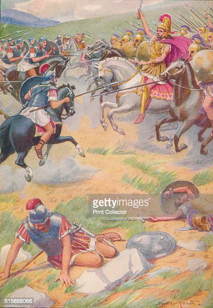 The armour of Pyrrhus was richer and more beautiful than that of his soldiers', circa 1912 . While Pyrrhus was training an army in Tarentum, the new...