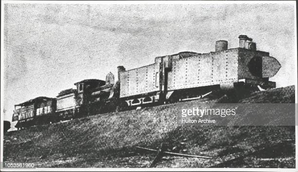 The armoured train destroyed by the Boers at Kraaipan The destruction of this train was the first overt act of war Kraaipan is a station between...