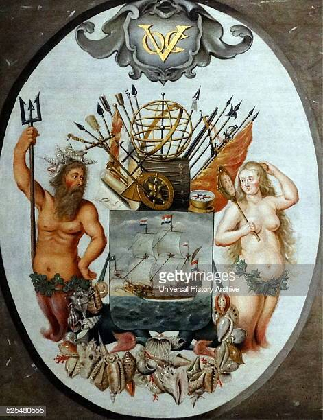 The Arms of the Dutch East India Company Dated 17th Century