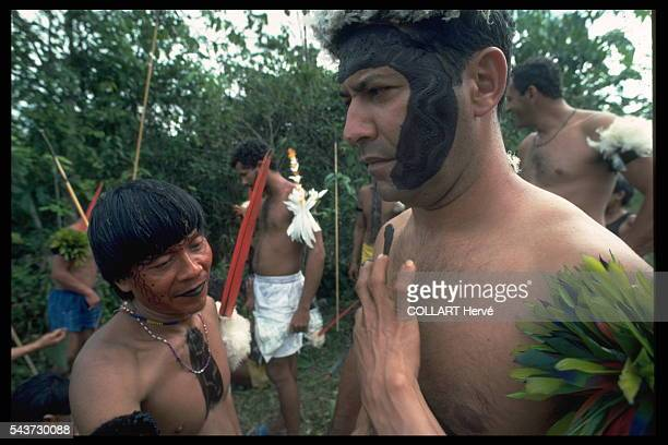 The Army has sent Col Dias Torres a descendant of a Guarani chief to run the 5th BEC that controls the Northern Amazon border He is about to...