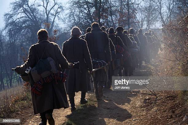 The army of Muslim rebel leader Fikret Abdic has been positioned on the hills surrounding Velika Kladusa in the Bihac enclave