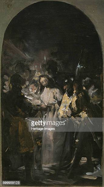 The Arrest of Christ 1798 Found in the collection of Museo del Prado Madrid Artist Goya Francisco de